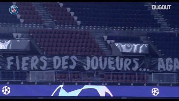 Paris Saint-Germain and Istanbul Basaksehir stand together against racism