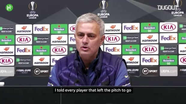 Mourinho clarifies Dele Alli was allowed to leave Spurs bench