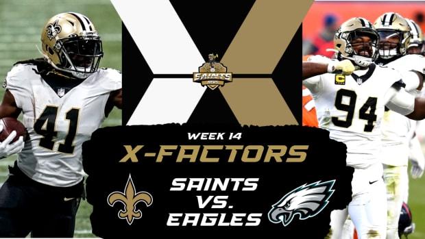 Week 14 X-Factors