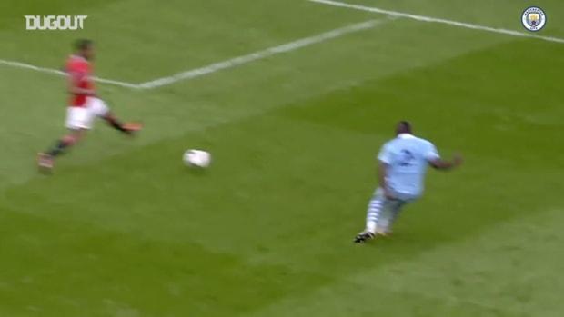 The best of Sergio Agüero versus Manchester United