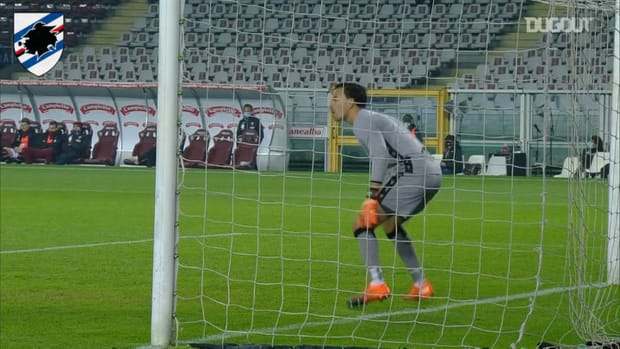 Audero's solid performance against FC Torino
