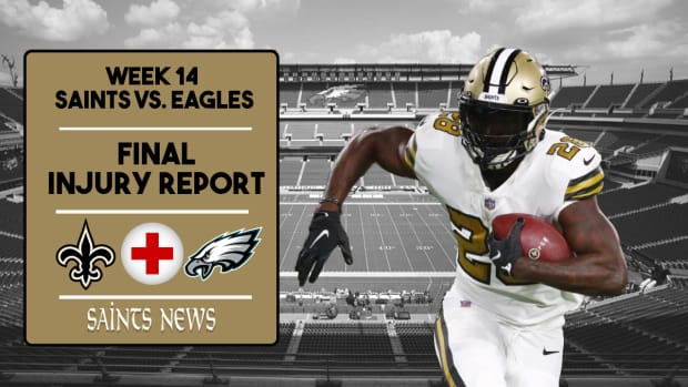 Saints Injury Report Week 14 (3)