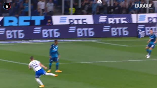 Best goals scored between Zenit v. Dinamo