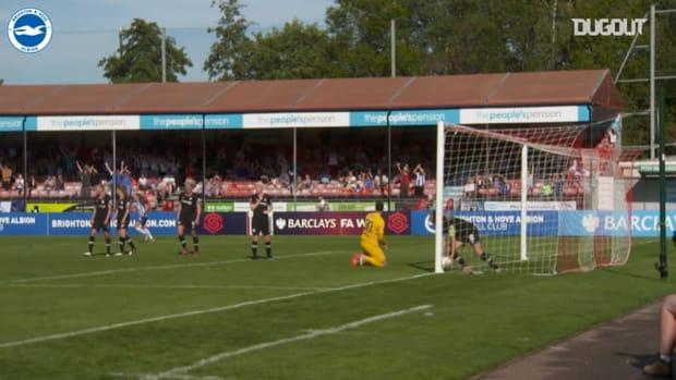 Aileen Whelan helps Brighton Women to draw vs Chelsea