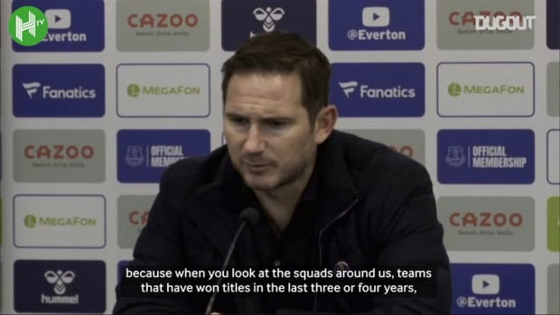 Lampard: 'We are a work in progress'
