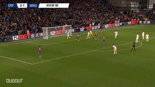 Crystal Palace's best goals vs West Ham
