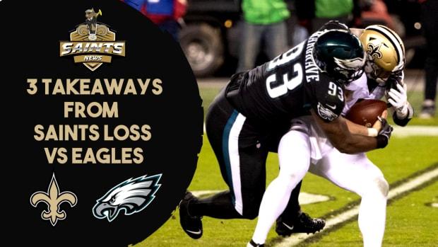 3 Takeaways vs. Eagles