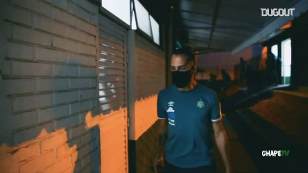 Behind the scenes of Chapecoense's victory over CRB