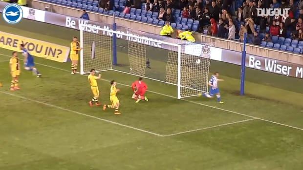 Brighton's best goals against Fulham