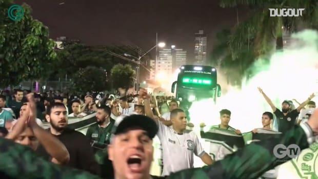 Behind the scenes of Goiás 0-0 Grêmio