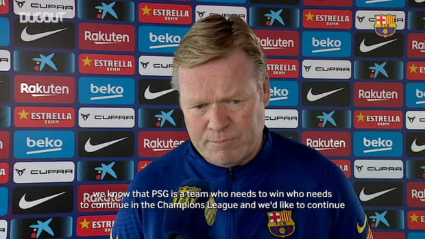 Ronald Koeman: 'I think the tie is 50/50'
