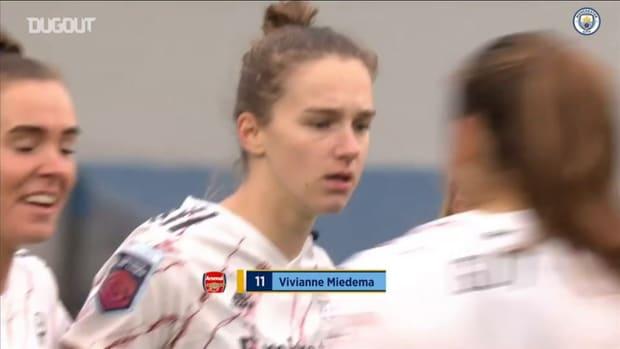 Wier scores dramatic late winner over Arsenal Women
