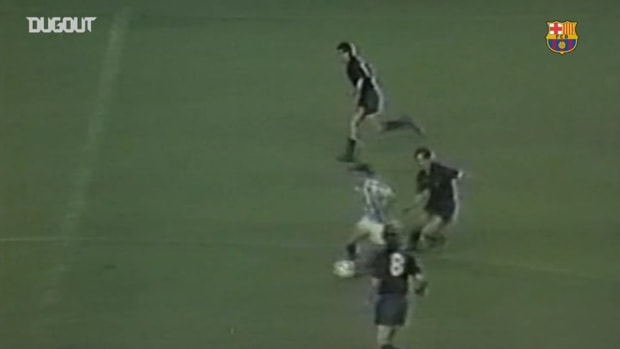 Diego Maradona's delightful chip vs Real Sociedad