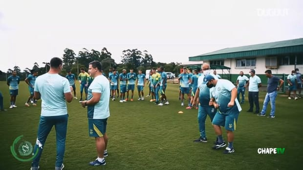 Chapecoense complete the first training session of the week