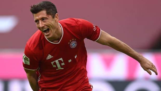 Bayern Munich's Robert Lewandowski had an award-winning 2019-20 season