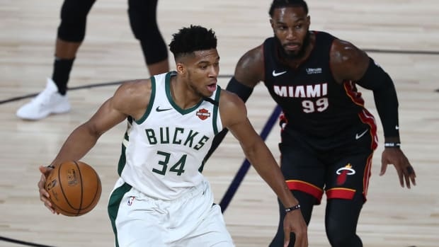 Will Giannis Antetokounmpo's extension with the Bucks set any kind of precedent for NBA superstars?