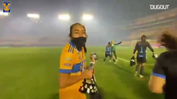 Tigres Femenil win the 2020 Apertura title