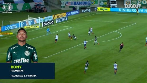 Brasileirão's top three goals of matchweek 25