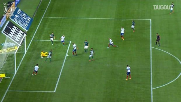 Brazil international Weverton's incredible display vs against Bahia