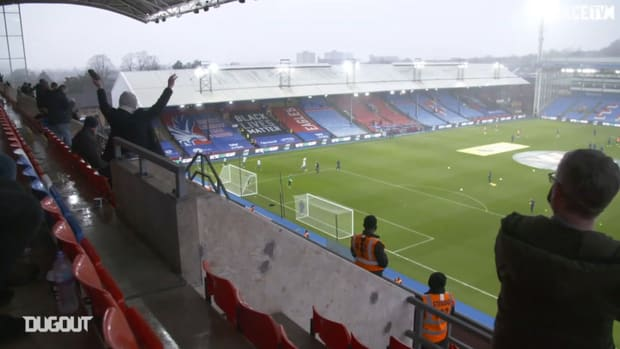 Behind the scenes: Fans return as Palace draw with Spurs