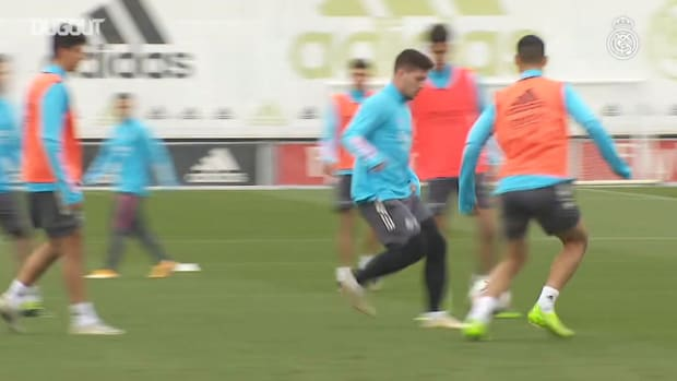 Preparations for the match against Eibar