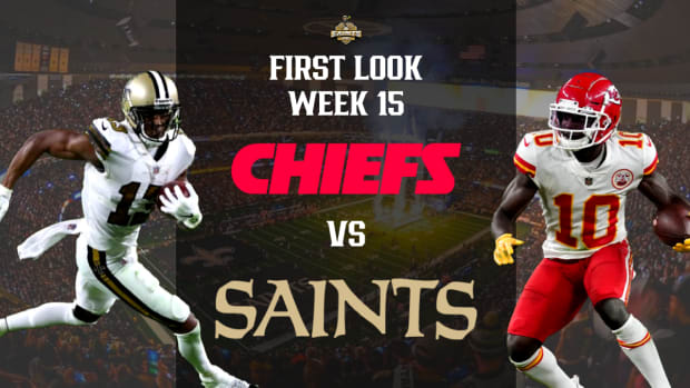 First Look Saints vs Chiefs Week 14