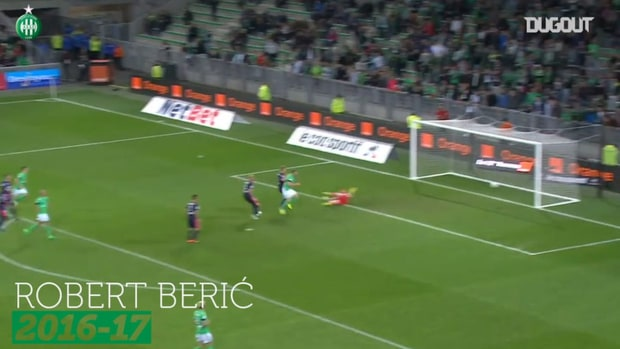 Saint-Etienne's top five goals vs Bordeaux