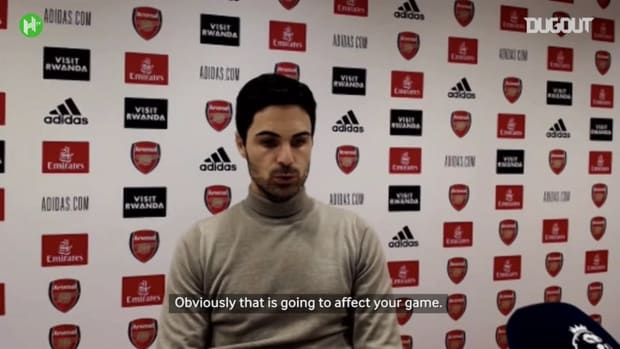 Arteta jokes Arsenal need Aubameyang to score in every game