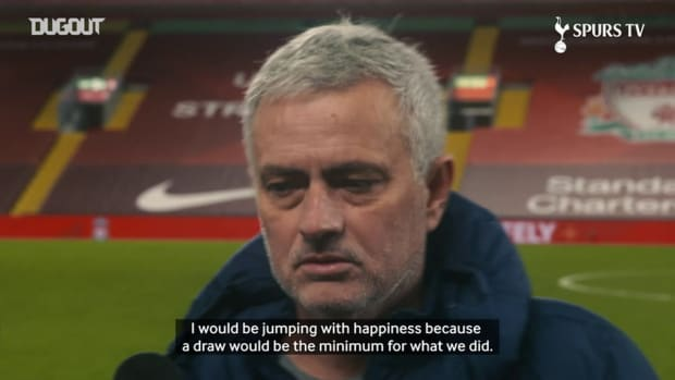 Mourinho: If it was a draw, I would be jumping