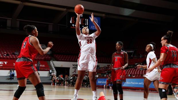 Alabama women's basketball Copeland