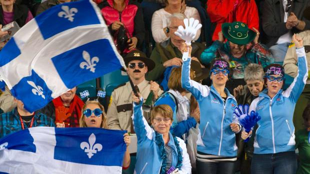 Brier 2018 Quebec fans