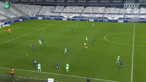 Yvan Neyou's superb first goal with Saint-Etienne