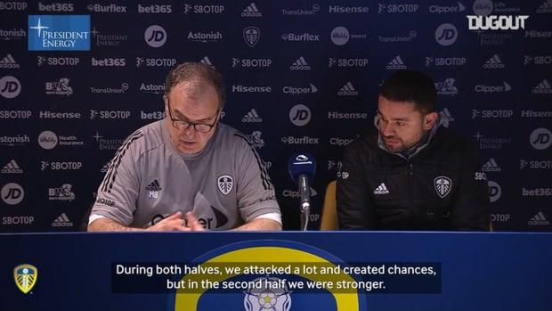 Marcelo Bielsa: 'It was a deserved victory'