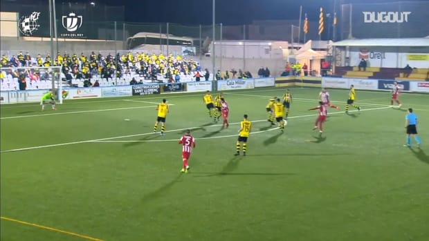 Thomas Lemar's great goal in the Copa del Rey
