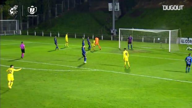 Villarreal's 6-0 win away at SD Leioa