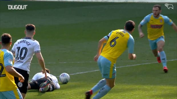 Derby County hit Rotherham for six