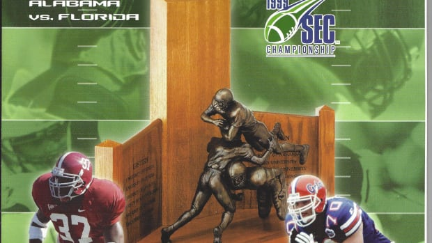 2009 SEC Championship Game program: Alabama vs. Florida