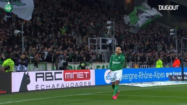 Khazri's brace help Saint-Etienne win vs Nîmes