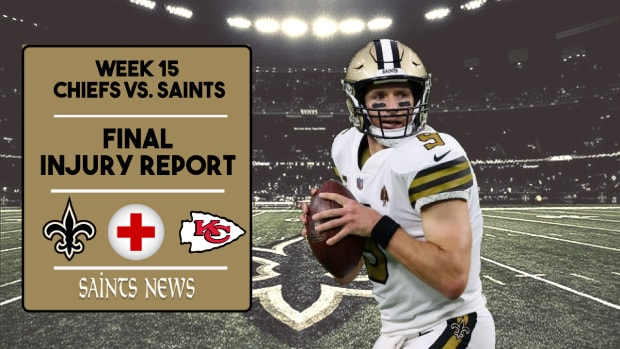 Saints Injury Report Week 15 (4)