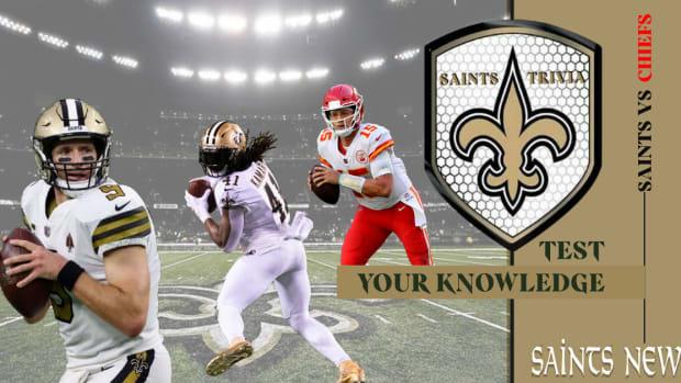 Saints Trivia - Test Your Knowledge Saints vs Chiefs