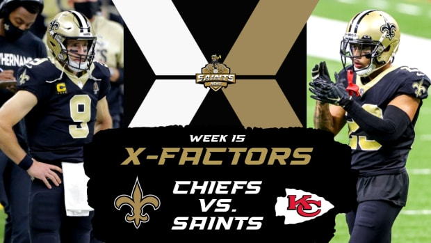 Week 15 X-Factors