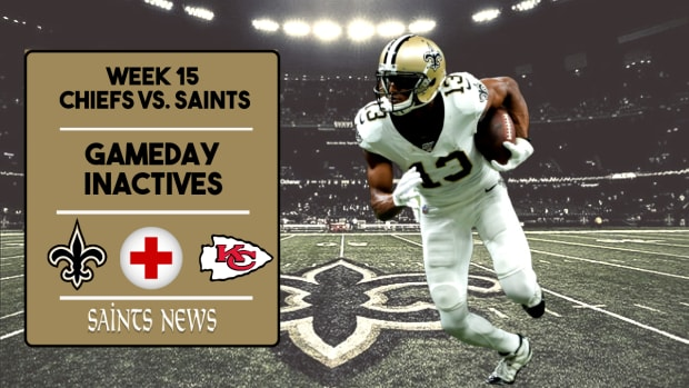 Saints Injury Report Week 15 (5)