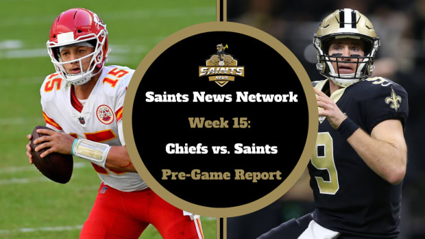 Pre-Game Report Week 15