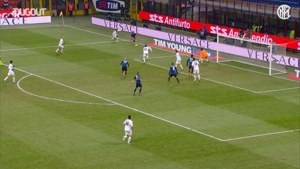 Yuto Nagatomo's brilliant display against Lecce