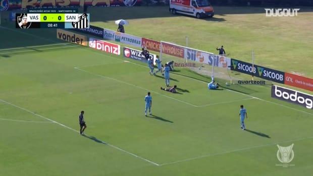Highlights Brasileirão: Vasco 1-0 Santos