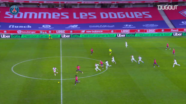Kimpembe's incredible defensive return against Lille in Ligue 1