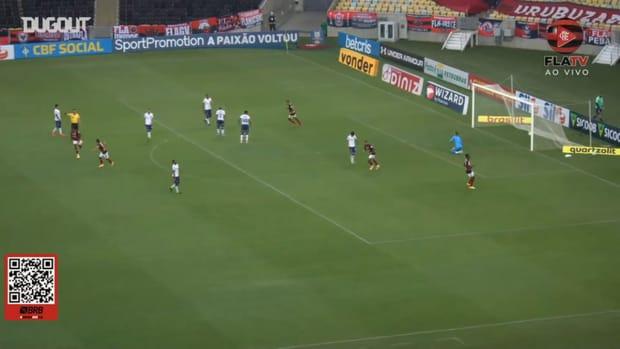 Bruno Henrique's incredible long-range goal vs Bahia