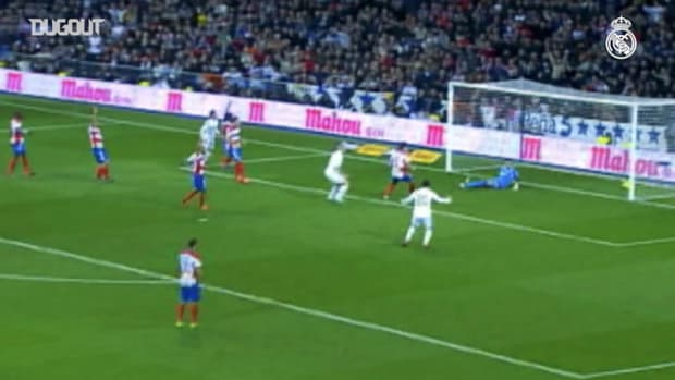 Karim Benzema's great goals against Granada