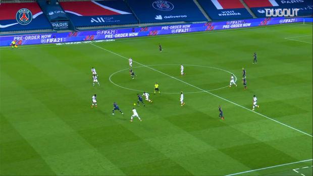 Paris Saint-Germain's best five goals of 2020