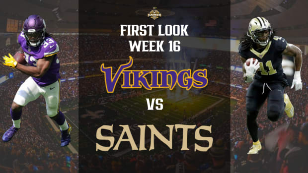Saints Vs. Vikings First Look